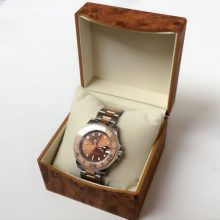 Wooden Watch Box With A Soft Pillow